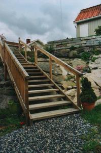 Utvendig trapp